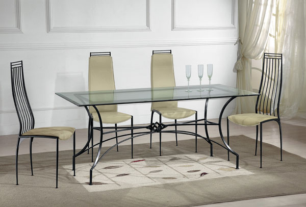 Tavolo Vetro Ferro Battuto.Ferox Tables And Chairs Metal Fabrication And Wrought Iron